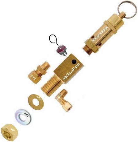 Tuttnauer Safety Valve Holder Assembly