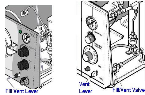 Fill/Vent Valve Location