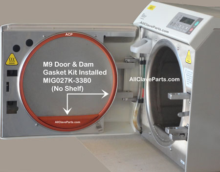 M9D Door & Dam Gasket Kit For M9D's Without the Dam Gasket Shelf