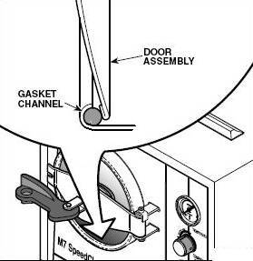 The right wasy to install the Midmark Ritter 7 Door Gasket