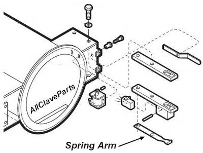 Midmark M9 Autoclave Spring Arm