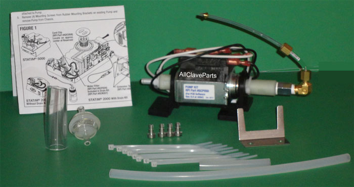 Statim 2000 WATER PUMP KIT (Software Rev. 6.3 or older )
