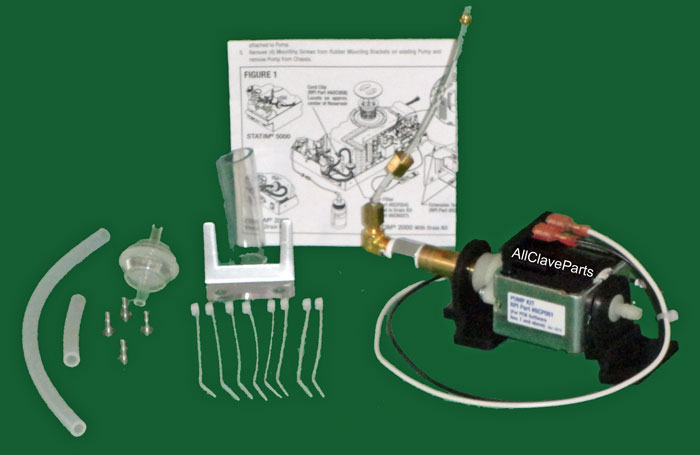 Statim 2000 WATER PUMP KIT (SOFTWARE REVISION 7 & ABOVE)