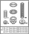 400 CHECK VALVE REBUILD KIT