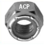 Dynaclave 613R (576A) HEX NUT WITH ELASTIC STOP
