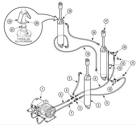 317 Hydraulic Parts Identification