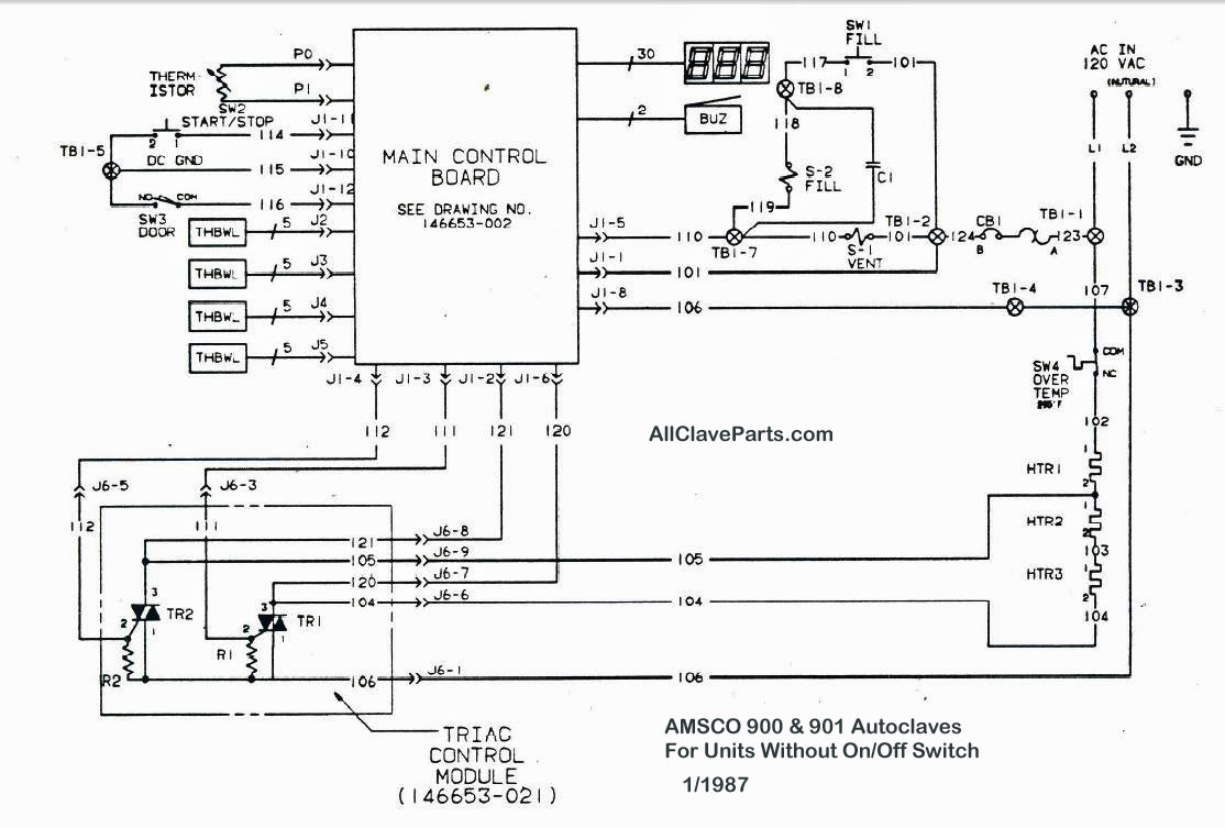 Amsco 900 Wiring Diagram Without On Off Switch Circuit Board Basics Click Image For Larger