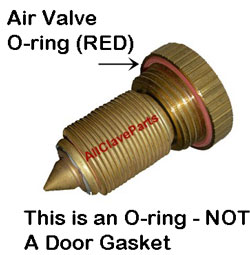 This is an O-ring...NOT a Door Gasket