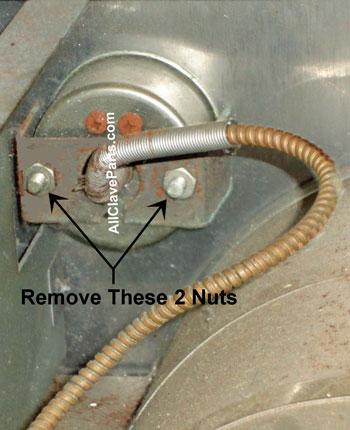 Step 2 - Replacing the Temperature Gauge