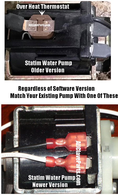 Make Sure you order the right water pump for your statim autoclave