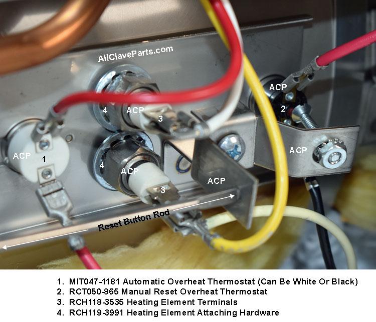 Midmark M7 Autoclave Repair Parts
