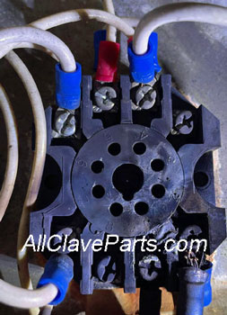 Magnaclave Newer Style Relay Socket