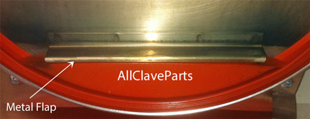 If Your Door Has The Metal Flap, Click This Image For The Dam Gasket You Need