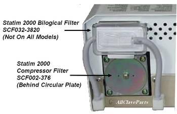 Statim 2000 Compressor Filter
