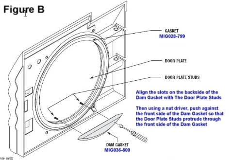 Midmark M11 Autoclave Door Gasket Installation
