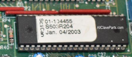 Statim 2k Microprossor Label