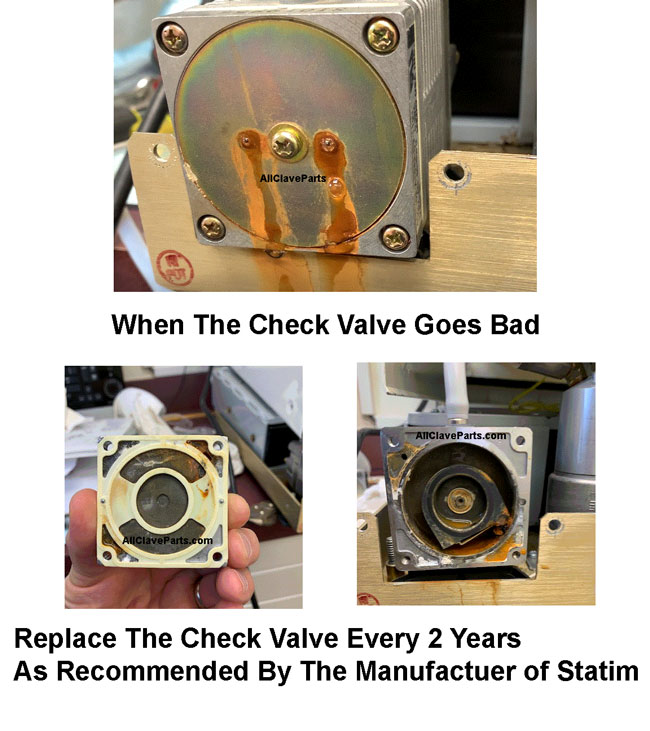Statim 2000 Check Valve When It Is Too Late
