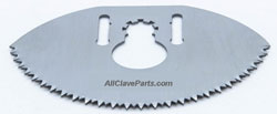 Stryker 941 CAST CUTTER BLADE (STAINLESS STEEL)